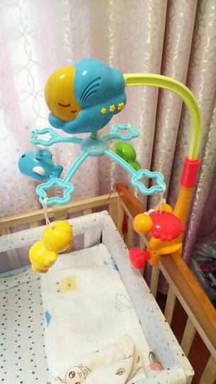 澳贝(AUBY)儿童婴儿玩具男孩女孩快活池塘床铃音乐旋转床铃摇铃儿童新年礼物(新旧配色随机发货)461530 晒单图