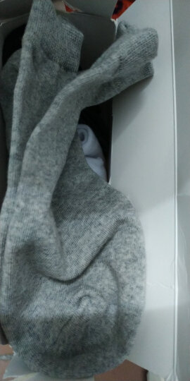 南极人袜子【5双装】男短袜春夏季船袜运动袜男士棉四季隐形低帮浅口潮短筒薄款 纯色短袜五双装 晒单图