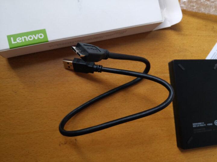 联想(Lenovo) 移动硬盘1T USB3.0高速传输便携 NAS外接硬盘 F308 2.5英寸黑色(新老包装随机发货) 晒单图