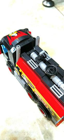 启蒙(ENLIGHTEN)拼装积木立体拼插儿童玩具城市警察系列男孩生日礼物 晒单图