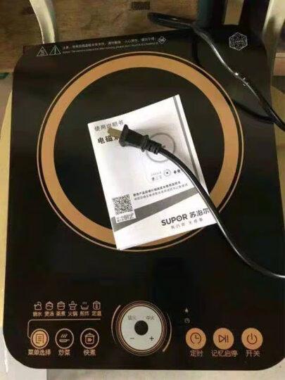 苏泊尔(SUPOR)电磁炉 旋控触摸式 2100W大火力电磁灶 IH13E9 (赠欧式汤锅+精铸炒锅) 晒单图