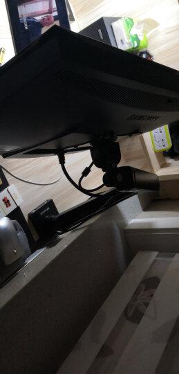 乐歌(Loctek)显示器支架 电脑显示器支架臂桌面旋转升降显示器增高架 电脑升降架17-30英寸 D6 晒单图