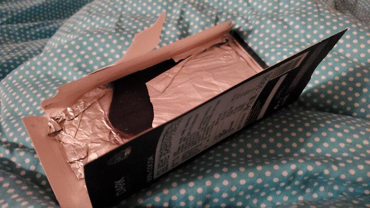 法国进口 德菲丝(Truffes)排块装90%可可黑巧克力 100g 晒单图