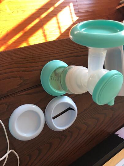 新贝 电动吸奶器 吸乳器 充电锂电池 PPSU奶瓶 静音防逆流8729 晒单图