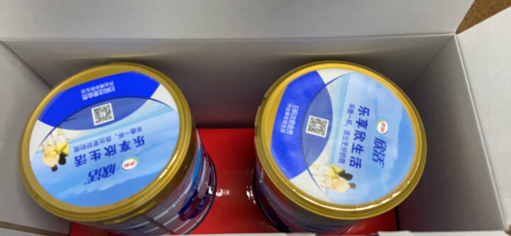 伊利欣活 中老年多维高钙奶粉 成人奶粉 多种维生素 早餐 400g袋装  独立小包装16*25g(新老包装随机发货) 晒单图