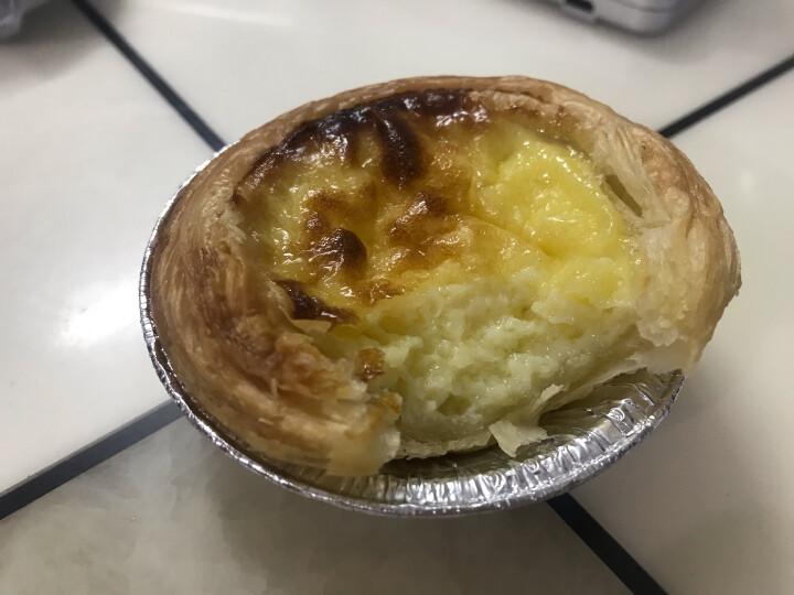 俏侬 乳脂蛋挞液 1kg 蛋挞皮烘焙食材烘焙半成品 蛋挞烘焙原料 烤箱烘焙 冷冻 晒单图