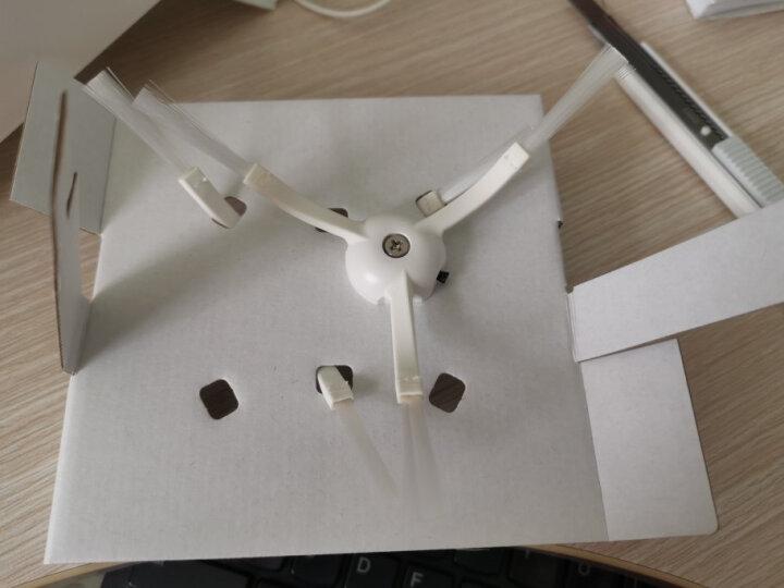米家 小米扫地机器人边刷2只装 适配小米扫地机器人一代/小米扫地机器人1S  配件 晒单图