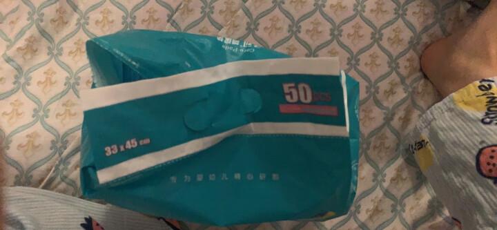 子初婴儿隔尿垫巾 新生儿一次性尿垫防水护理垫M码 20片装 晒单图