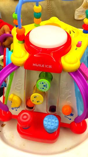 汇乐玩具(HUILE TOYS)快乐小天地806 婴幼儿新生儿宝宝早教益智玩具多功能游戏台儿童男孩女孩过家家玩具 晒单图
