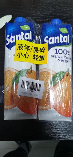 意大利进口 帕玛拉特圣涛 Parmalat 100%橙汁  果蔬汁 饮品 进口饮料 纯果汁饮品 1L*3盒 晒单图