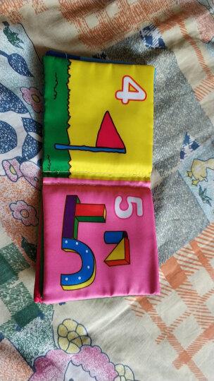 拉拉布书 宝宝布书婴儿玩具0-1岁婴幼儿早教儿童玩具益智玩具 视觉训练床围车护栏可爱动物B款六一儿童节礼物 晒单图