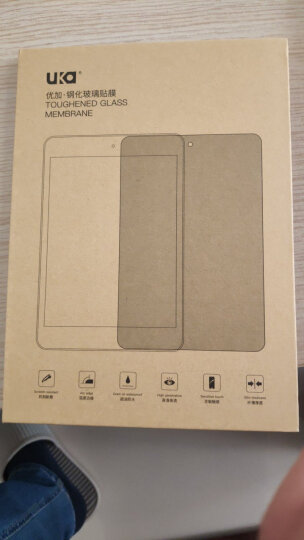 优加 钢化玻璃膜平板保护贴膜 适用于苹果ipad mini/mini2/mini3 直边 晒单图