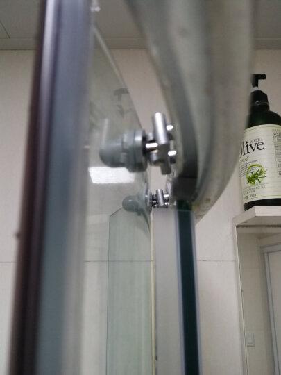 妙记圆弧淋浴房滑轮老式浴室玻璃推拉移门小吊轮铝摇摆双轮淋浴房配件 轮子直径25MM双轮摇摆轮 晒单图