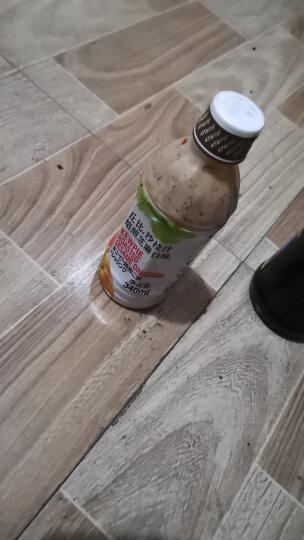 丘比(KEWPIE)沙拉汁 焙煎芝麻口味 拌水果蔬菜凉面 调味烤肉火锅蘸料芝麻酱340ml 晒单图
