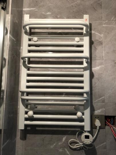 艾芬达 电热毛巾架 智能温控小背篓电加热浴室浴巾架 烘干防潮CN03 喷涂75*45cm配C型温控 晒单图