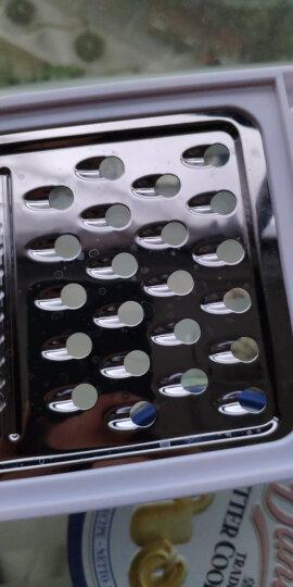 德国法克曼fackelmann 多用蔬菜刨擦丝器切片器彩色不锈钢(颜色随机)45391 晒单图