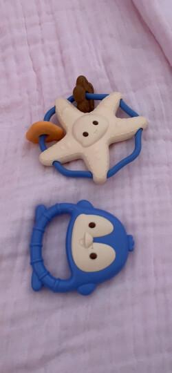 澳贝(AUBY)益智玩具宝宝手摇铃新生婴儿玩具0-1岁放心煮罐装牙胶男女孩玩具(新旧配色随机发货)461525 晒单图