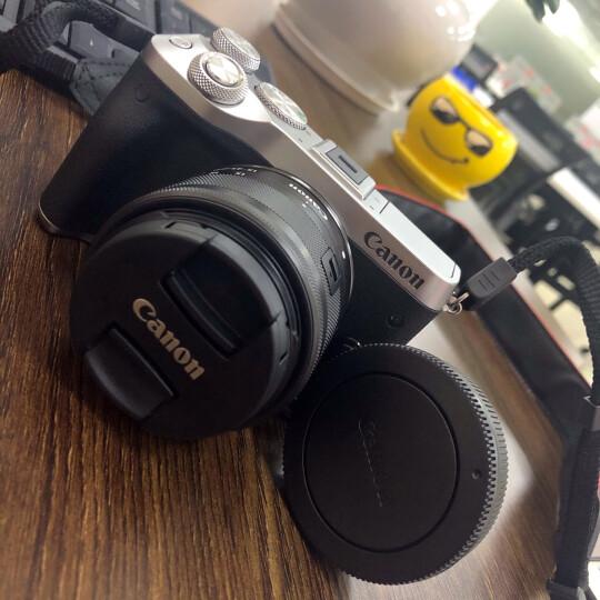 佳能(Canon)EOS M6 微单相机 数码相机 微单套机 银色(15-45 微单镜头)Vlog相机 视频拍摄 晒单图