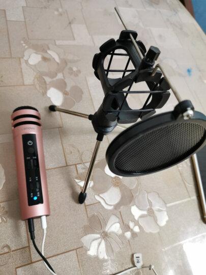 联想(Lenovo) UM10C手机麦克风 全民k歌主播专用话筒 苹果安卓电容麦电脑唱歌KTV效果 青春版钛金灰套装 晒单图