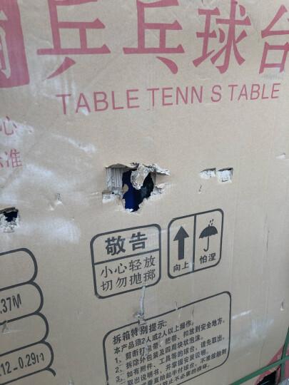 健伦(JEEANLEAN)乒乓球桌 室内家用可折叠移动乒乓球台户外 专业级KL305乒乓球台(室内加粗加厚) 晒单图