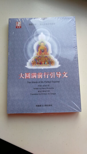 预售 大圆满前行引导文 华智仁波切,索达吉 9787805893228 晒单图