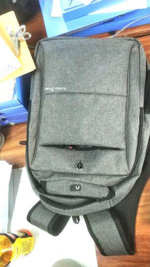 维多利亚旅行者 VICTORIATOURIST 双肩包电脑包15.6英寸 男商务防泼水双肩背包V9006灰色 晒单图
