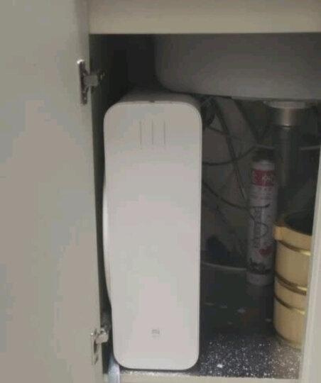 米家 净水器(400G)厨上增强版 家用净水器 RO反渗透大流量直饮低废水 智能提醒自助更换滤芯 小米净水器 晒单图