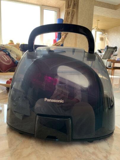 松下(Panasonic)电熨斗家用 手持蒸汽挂烫机 电子恒温感应 无线自由熨烫 NI-WL41 晒单图