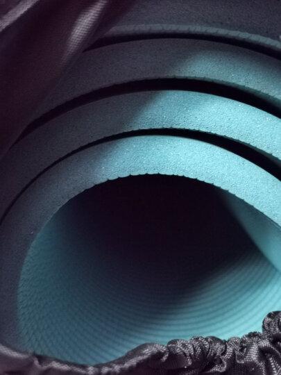 奥义瑜伽垫 加厚15mm舒适防硌健身垫 高密度防滑加长男女运动垫子 湖蓝(含绑带网包) 晒单图
