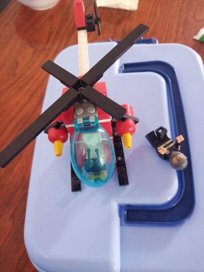 古迪儿童积木拼装玩具男孩益智消防总局消防车立体拼插儿童礼物6-14岁 抢救失火森林9216 晒单图