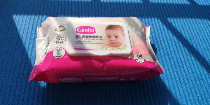 爱护婴儿湿巾 儿童湿纸巾 宝宝专用湿巾 无香棉柔 带盖不连抽 80片×9包 晒单图