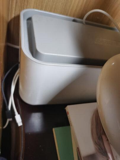 奥睿科(ORICO)CMB-18 插座/排插/插排/插线板/排插防水防尘理线整理收纳盒电源数据线充电器集线盒 晒单图