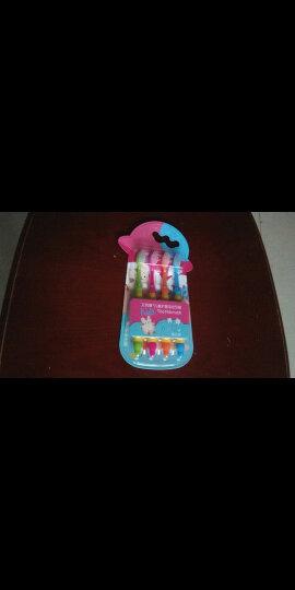 艾芭薇(Erbaviva)儿童牙刷超值4支装 6-7-12岁 婴幼儿宝宝换牙期 超细软毛牙刷 儿童口腔清洁 护龈防蛀 晒单图