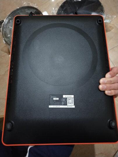 美的(Midea)电磁炉 家用大功率 电磁灶 恒匀火 智能定时 低噪散热 C21-WH2126(赠汤锅+炒锅) 晒单图