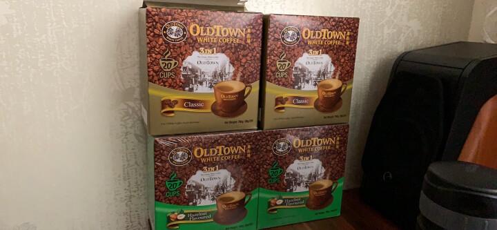 马来西亚进口 旧街场(OLDTOWN)原味20条盒装 三合一速溶白咖啡 760g 晒单图
