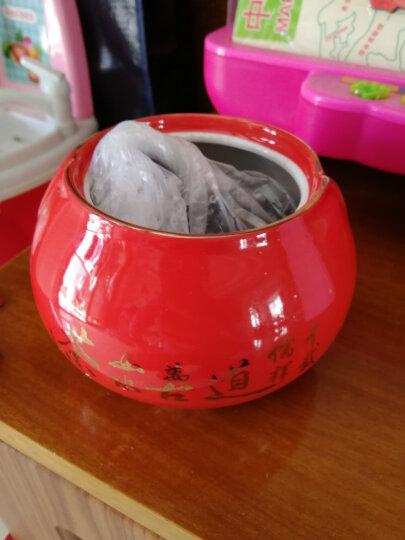 仙第大红袍茶叶乌龙茶岩茶 大红袍一鹭莲升瓷罐装 过节送礼 晒单图
