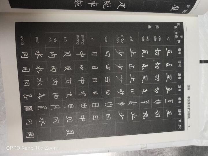 中国硬笔书法字典(修订版) 晒单图