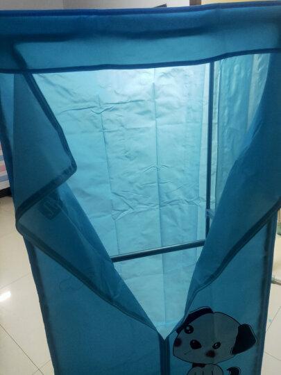 奥克斯(AUX)干衣机家用烘衣机烘干机1000W双层容量 家用15公斤 R8蓝【不锈钢杆】 晒单图