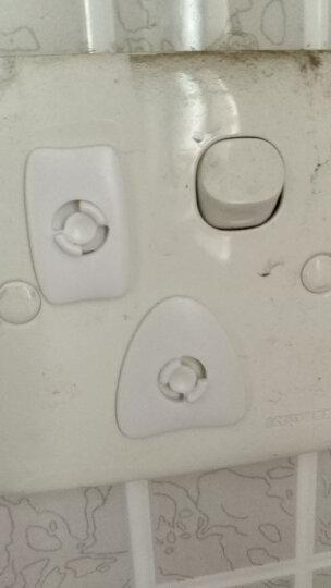 pearhead 儿童安全防护插座保护盖系列防触电两孔12个装 无需钥匙 晒单图