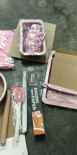 学厨 CHEF MADE烘焙工具24件套装 烤箱用具戚风蛋糕模具饼干蛋挞烤盘西点烘培套装粉色WK9323 晒单图