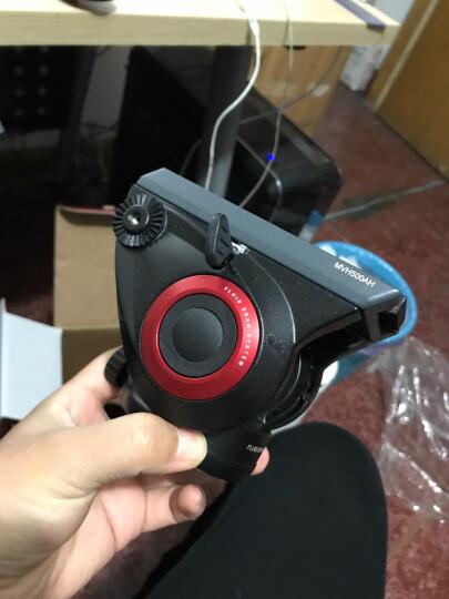 曼富图(Manfrotto)MVMXPRO500 XPRO PLUS 4节摄像独脚架 带液压云台和液压底座 晒单图