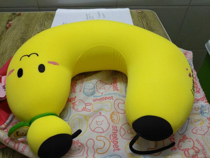 舒宠(sheepet)毛绒玩具公仔U枕香蕉u型枕靠枕午睡枕旅游睡枕 黑企鹅U型枕 晒单图