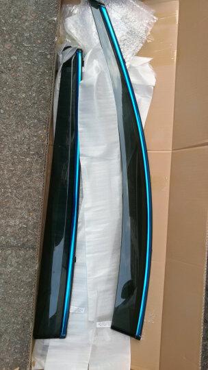 点缤 车窗晴雨挡 注塑带亮条遮雨遮阳挡 挡雨板雨眉 专用改装用品 汽车车窗晴雨挡/一套4片 众泰SR9SR7大迈X5X7T600T70Z700 晒单图