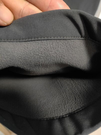 探路者(TOREAD)软壳裤 春秋户外防风防水越野裤 情侣款休闲弹力长裤 HAMF91011 炭灰(男,不加绒) XL 晒单图