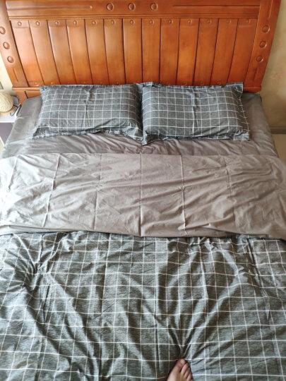 百富帝(byford)四件套纯棉家纺 床上用品床单枕套双人全棉斜纹套件1.5/1.8米床被套200*230 荏苒春来 晒单图