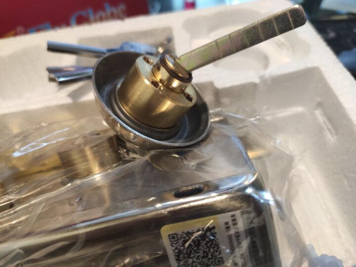 飞球(Fly.Globe)外装门锁不锈钢老式防盗门锁超B级防撬铜锁芯右开 FQ-9808R 晒单图