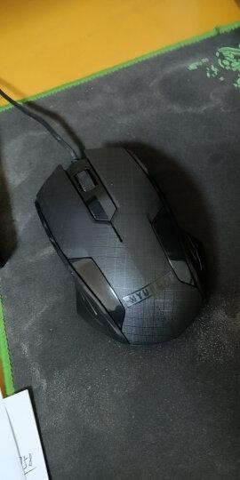 现代(HYUNDAI)有线键鼠套装 键盘鼠标套装 USB接口家用办公鼠标键盘套装HY-MA75黑色 晒单图