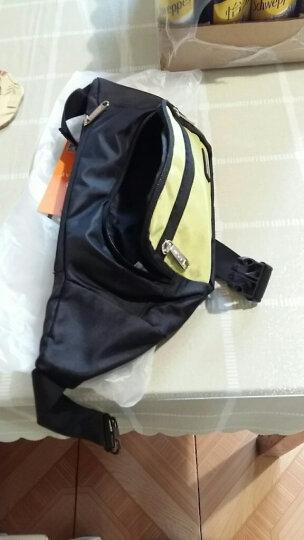 天逸TINYAT腰包男健身斜挎包跑步骑行背包多功能小包T205银灰色 晒单图