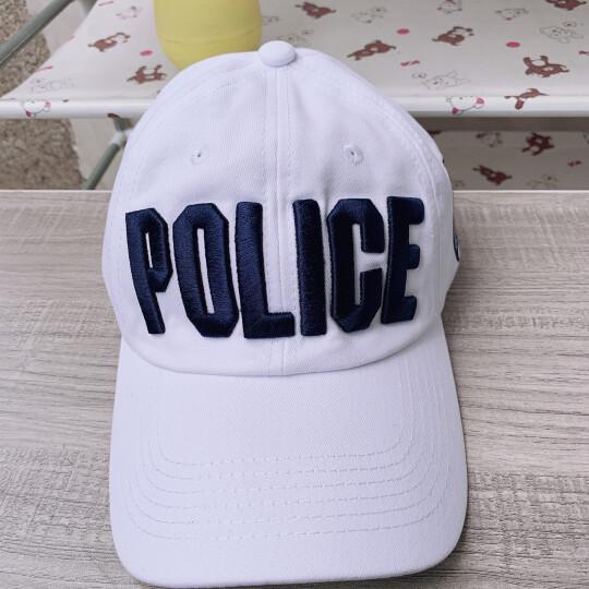 迷人微笑棒球帽子女士夏季潮款韩版情侣刺绣鸭舌帽子男春秋天遮阳帽 黑白 晒单图