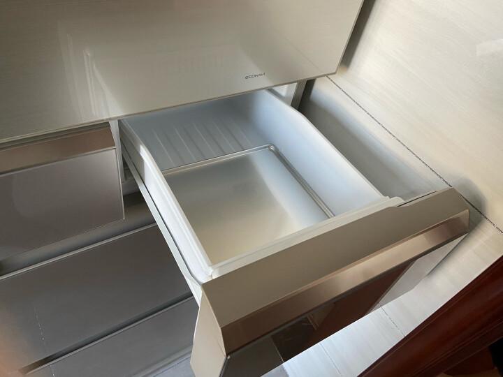 松下(Panasonic)405升日本进口多门冰箱 自动制冰 变频风冷无霜 透湿保鲜 NR-EC43VG-N5 晒单图